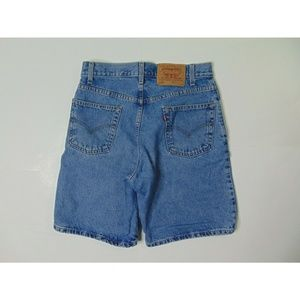 Vintage Levi's 550 30 Relaxed Fit Jeans Shorts